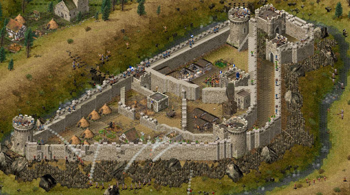 stronghold hd: to siege